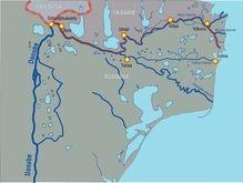 В устье Дуная сел на мель украинский теплоход