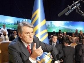 Ющенко пообщался с ведущими европейскими СМИ