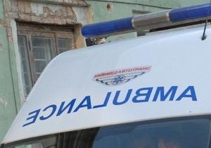 В Горловке автомобиль сбил десять человек