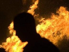 В Киеве на Виноградаре сгорели балконы четырех квартир