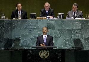Обама не исключает, что Палестина станет 193-м членом ООН