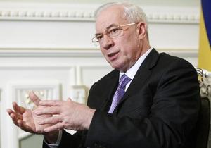 Азаров спрогнозировал рост промпроизводства в Украине