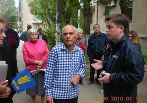 В Николаеве пенсионера обвинили в хулиганстве за требование от кассира Ощадбанка общаться по-украински