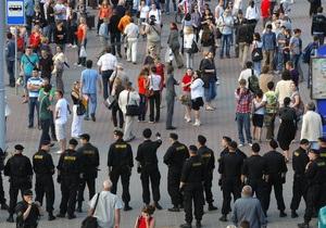 В Минске милиция ограничила доступ к местам сбора участников акции протеста