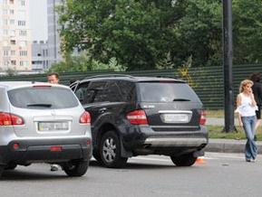 В Киеве столкнулись машины известной телеведущей и народного депутата