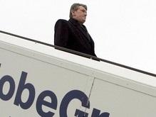 Ющенко прилетел в Париж на саммит Украина-ЕС