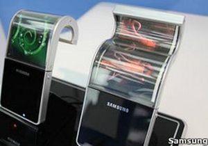 Гибкие мобильники могут появиться уже в 2013 году