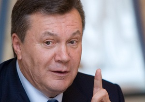 Янукович: Система здравоохранения нуждается в лечении
