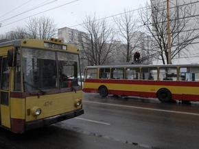 В Крыму погиб мужчина, которого зажало между двумя троллейбусами