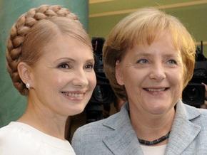 Тимошенко поговорила с Меркель