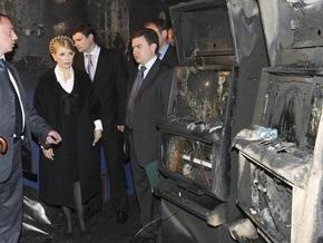 Состояние здоровья пострадавших в результате пожара в Днепропетровске стабильное