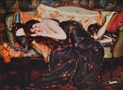Выставка «Вечная загадка. Женский образ в искусстве»