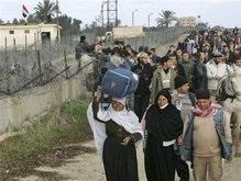 Десятки тысяч палестинцев проникли в Египет