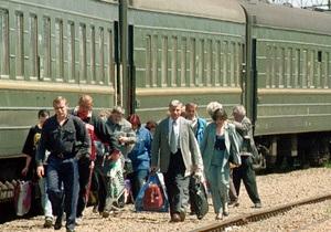 Поезд Киев-Москва - пограничники - Поезд Киев-Москва больше не будут проверять ночью