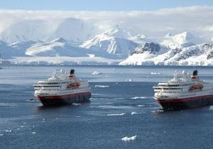 В Арктике столкнулись два танкера