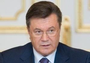 Янукович требует прекратить спекуляции на темах языка и истории