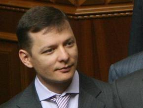 Парламентские склоки: Ляшко попытался повесить свой галстук на плечо Лукьянову