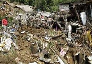 Число погибших в результате оползней в Рио-де-Жанейро достигло 250 человек