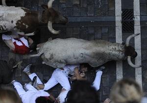 Первый день Сан-Фермина: на легендарном фестивале ранены несколько человек