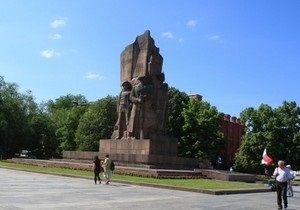 Из центра Харькова уберут монумент в честь провозглашения советской власти в Украине