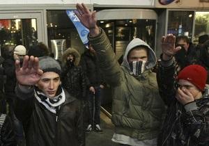 На Манежной площади задержали около 20 человек