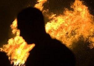 В центре Днепропетровска сгорел ночной клуб