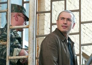 Ходорковский будет писать очерки о тюрьме для журнала The New Times