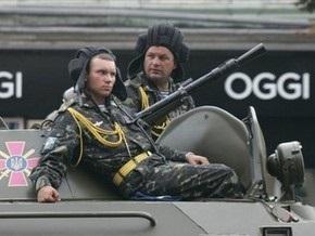 Минобороны отказывается от прохождения военной техники по Крещатику