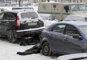 В Петербурге совершено нападение на инкассаторскую машину: есть жертвы