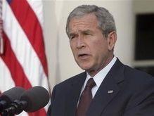 Буш потребовал от Москвы положить конец кризису в Грузии