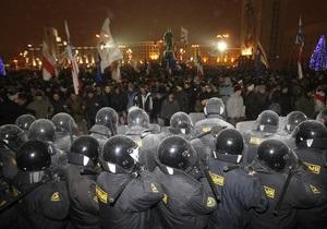 Посольство РФ: Во время акций протеста в Минске были задержаны девять россиян