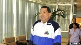 Власти Кубы показали улыбающегося после операции Чавеса