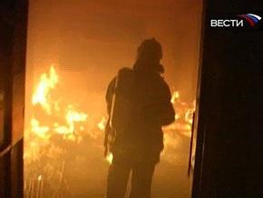 В Москве произошел пожар на закрытом Черкизовском рынке