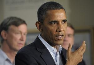 Обама отметил важность второй поправки к Конституции США, несмотря на расстрел людей в Колорадо