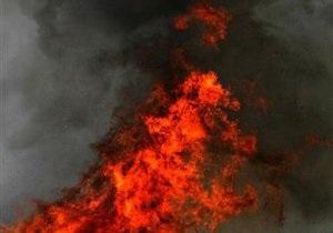 В Виннице из-за взрыва топливного бака грузовика травмирован мужчина
