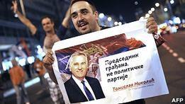 Бывший националист Николич победил на выборах в Сербии