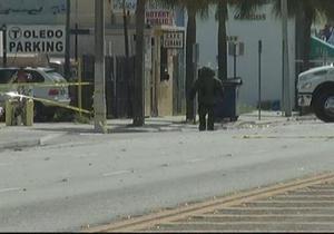 В Майами полиция обезвредила самодельную бомбу