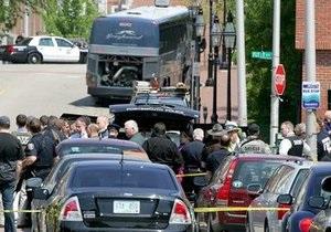 В Нью-Гэмпшире полиция блокировала автобус с бомбой
