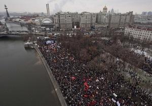 Мэрия Москвы санкционировала Марш миллионов перед инаугурацией Путина
