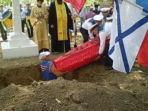 В Севастополе пытались сорвать церемонию захоронения останков солдат Крымской войны