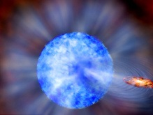 Астрономы взвесили самую большую черную дыру во Вселенной