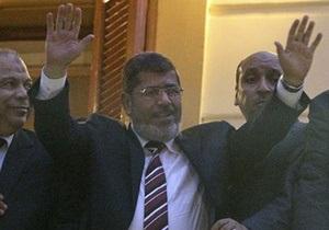 Победителем выборов в Египте объявлен Мурси