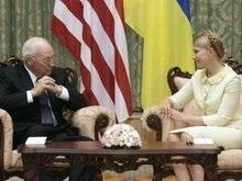 Тимошенко поблагодарила Чейни за поддержку развития демократии в Украине