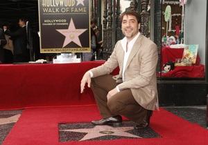 Хавьер Бардем получил звезду на Аллее славы в Голливуде