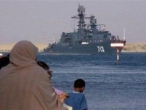 Сомали рассчитывает на помощь российских военных кораблей в борьбе с пиратством