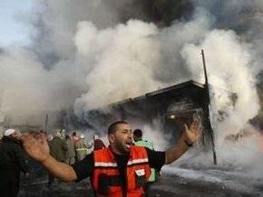Израильские ВВС разбомбили склады с продовольствием и медикаментами