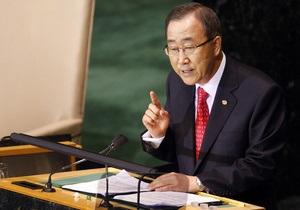 Генсек ООН считает полезным внешнее вмешательство в дела Сирии