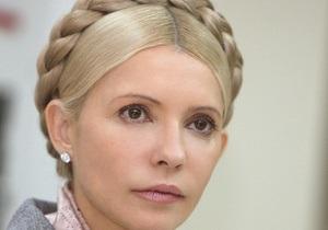 В пенитенциарной службе подтвердили, что Тимошенко перевезли в колонию