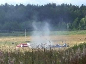 Найдены черные ящики  с разбившихся в Подмосковье Су-27