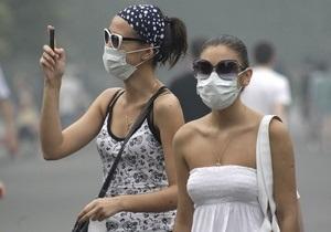 Над Москвой сгущается смог и усиливается запах гари